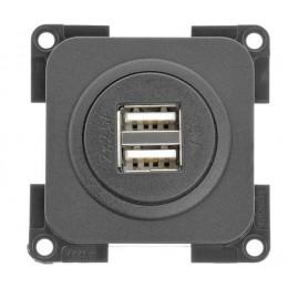 ENCHUFE USB DOBLE PRESTO 2x2.5A